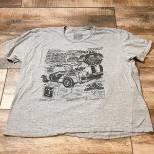 Back to the Future Graphic Tee (2XL)